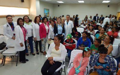 Alrededor de 60 niños del cibao son intervenidos en el Hospital Hugo Mendoza