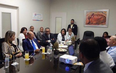Visita del Vice ministro de la calidad del Ministerio de Salud Pública.