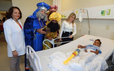 Entregan Juguetes a niños y niñas del Hospital Pediátrico Doctor Hugo Mendoza