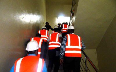 Simulacro de evacuación bajo la modalidad de conato
