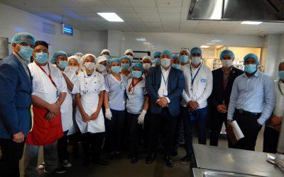 INDOCAL Recertifica cocina Hospital Hugo Mendoza
