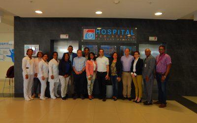 Hospital Hugo Mendoza recibe visita del Embajador de Israel