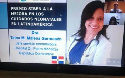 Reconocen con premio internacional a  pediatra dominicana por sus aportes a la reducción  de la mortalidad neonatal