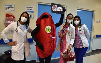 Hospital Pediátrico Dr. Hugo Mendoza presenta nuevo personaje infantil Se trata de Riñoncito, quien orientará a los niños sobre el cuidado del riñón